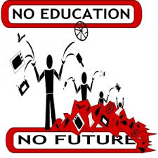 no education